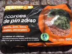 Ecorces de pin 20/40